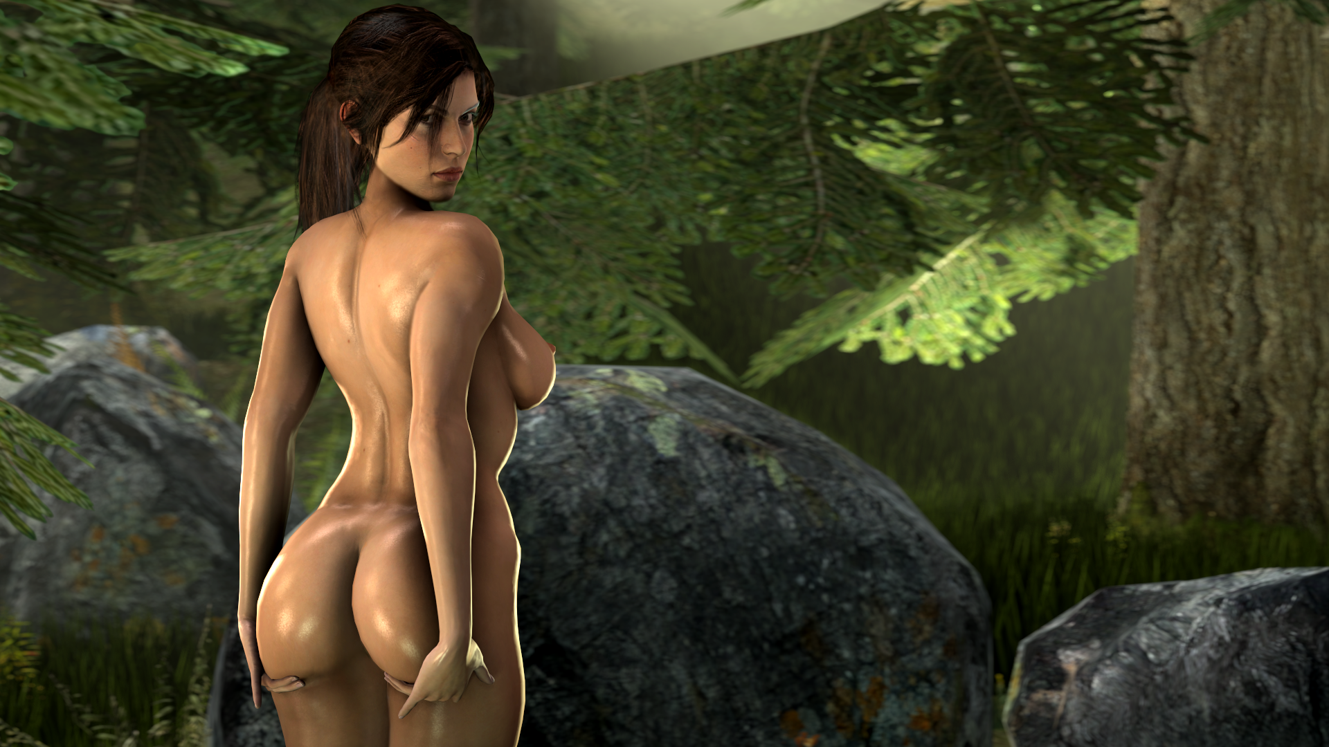 Nude lara croft tomb raider game