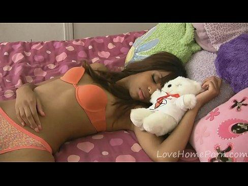 Sleeping black girl porn
