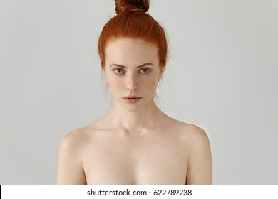 Ginger girl non nude models