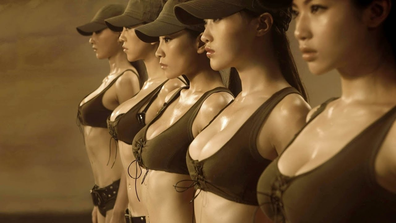 Chinese military girls porn
