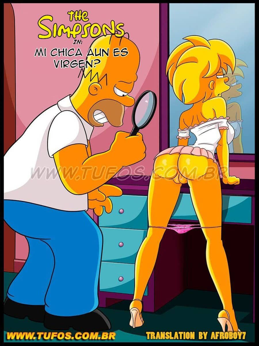 Los simpson comic porno