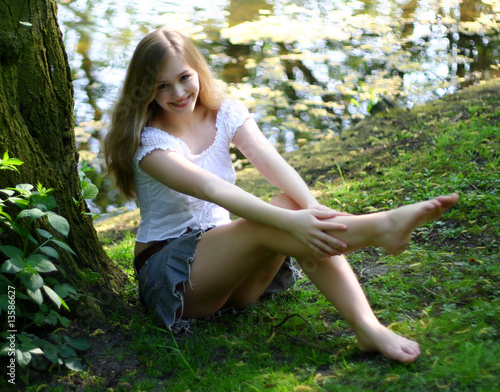 Young german teen girls model