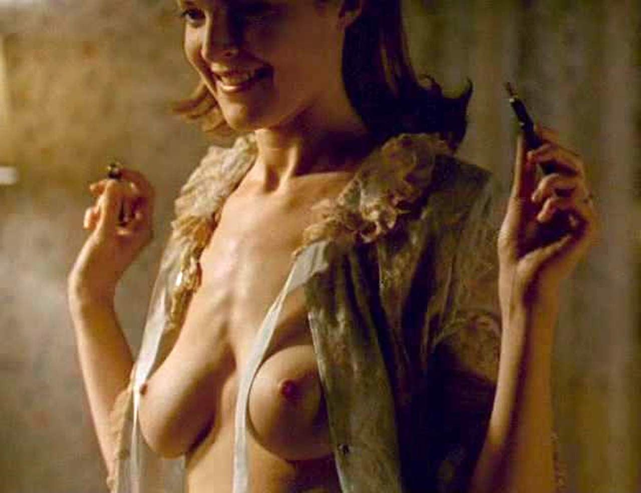 Nude naked cross marcia