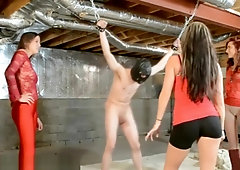 Naked balls bust reality