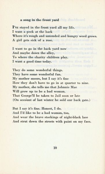 Poems about men and women