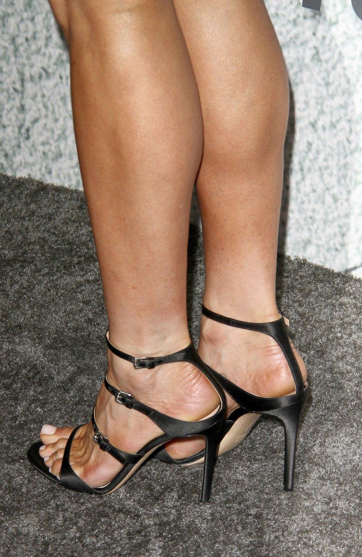 Sexy girl feet in sandals