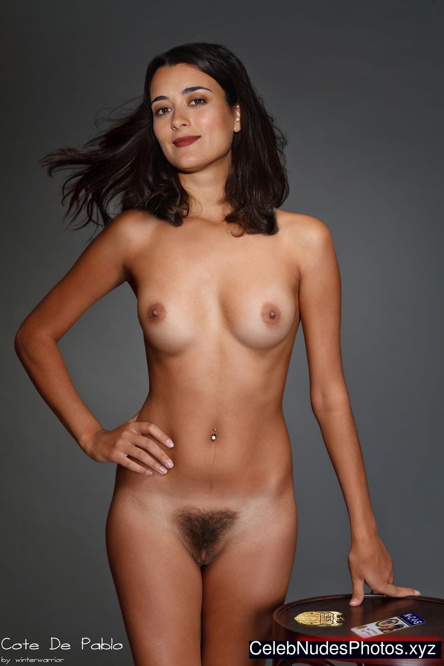 Cote de pablo topless