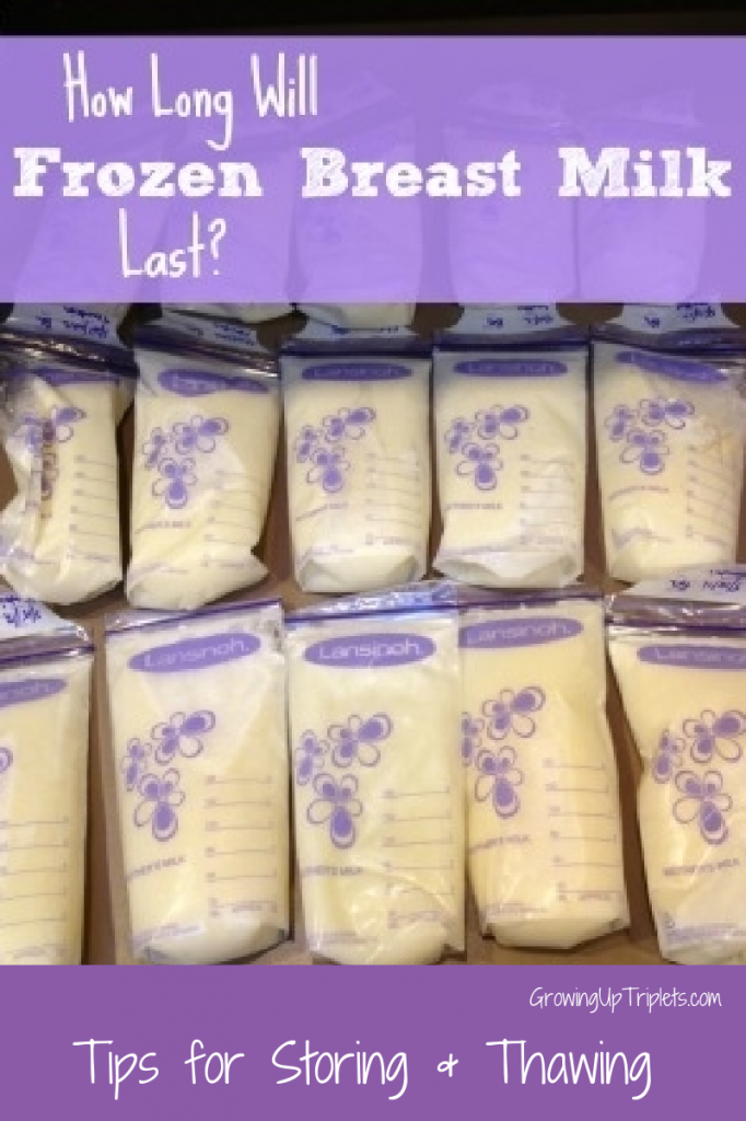 How long will breast milk