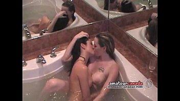 In busty tub lesbians hot