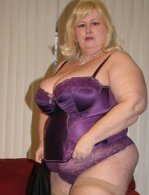Granny lingerie bbw bra