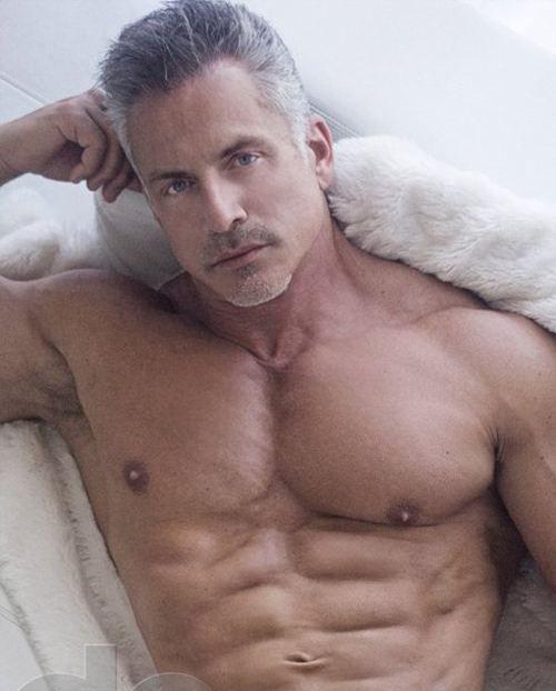 Older naked silver foxes men