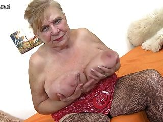 Nude english old grannies with saggy breasts