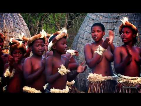 Zulu dance traditional up leg showing panty