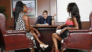 Tape lesbian threesome sex real amateur