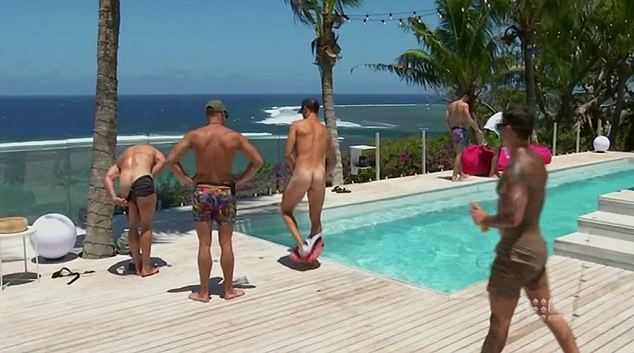 Naked mexican lads protest