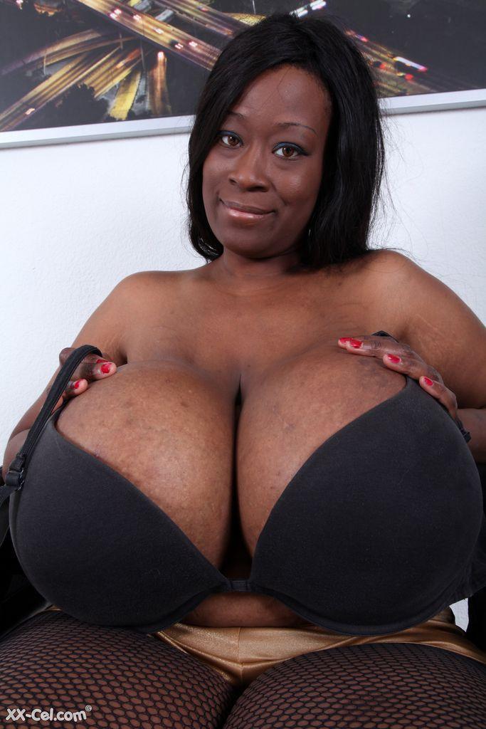 Big black beautiful girls breast