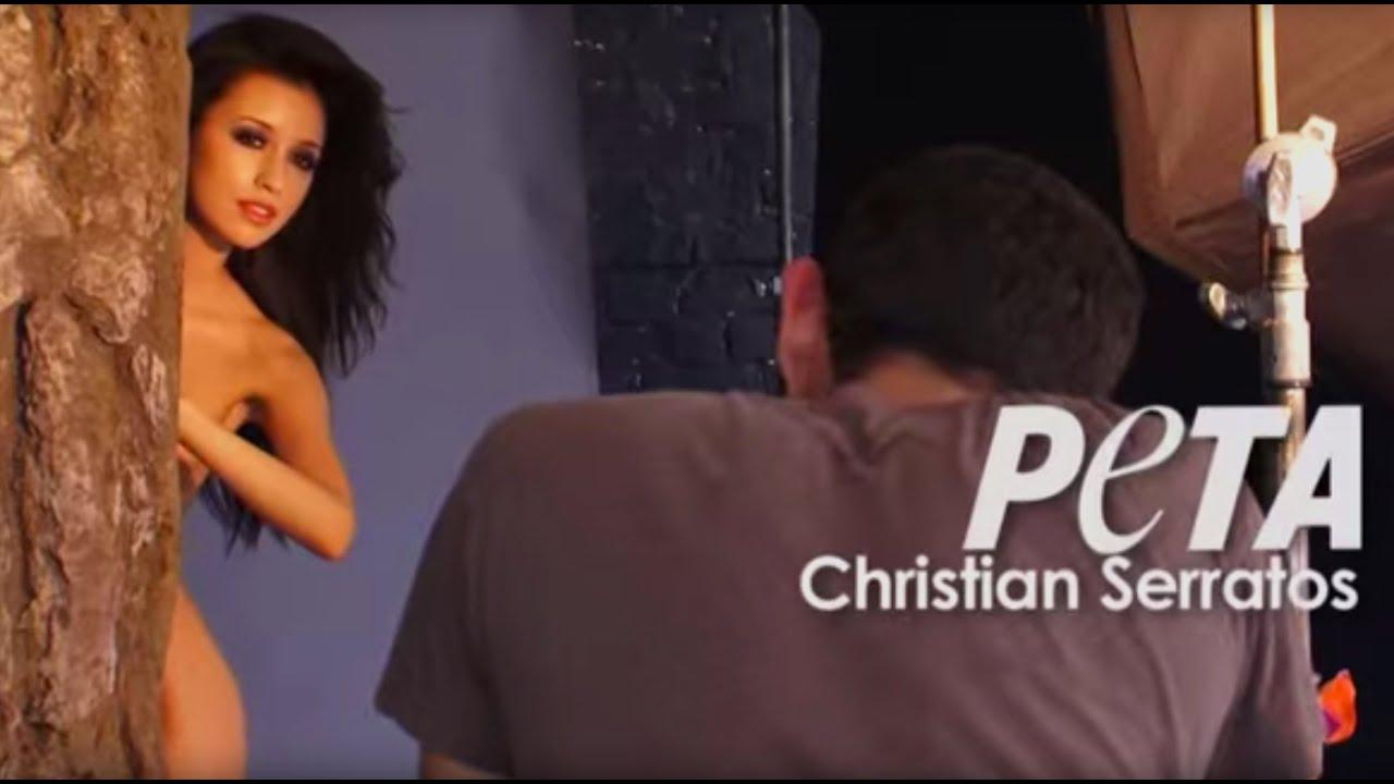 Christian serratos nude peta
