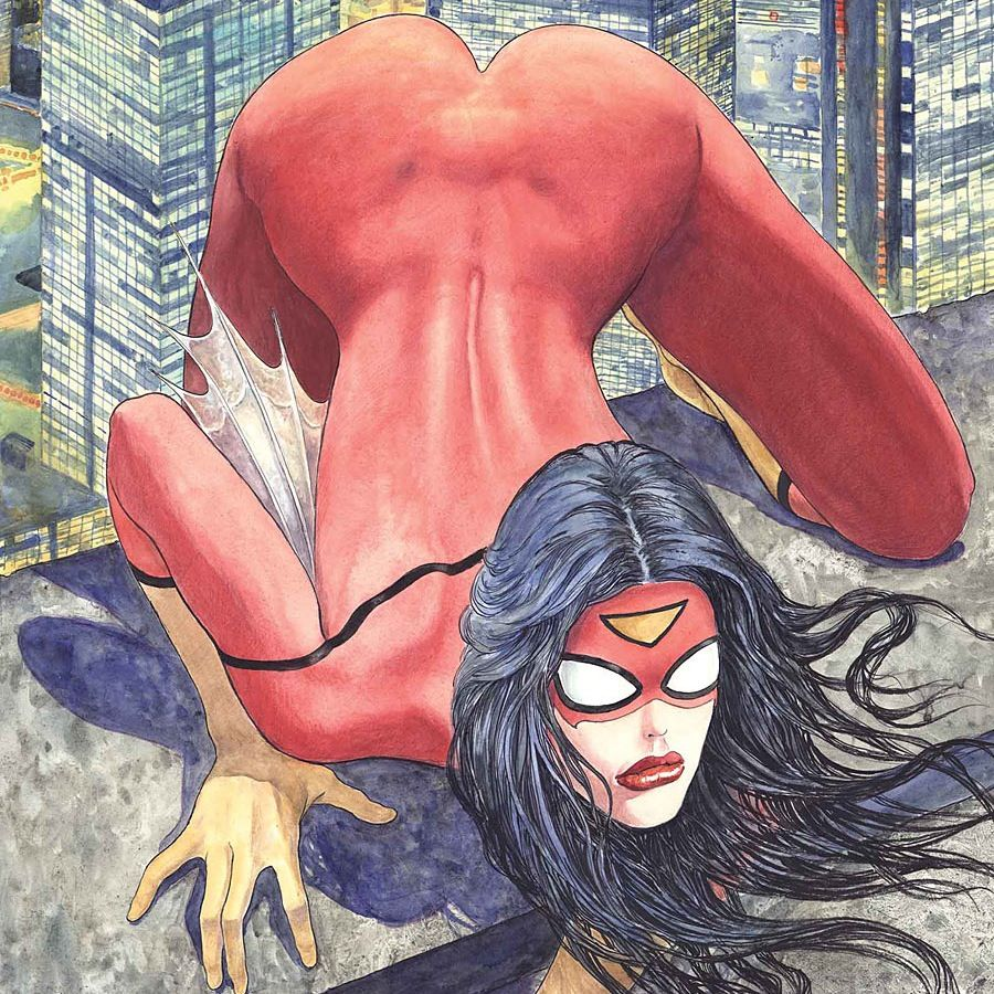 Spider woman variant cover