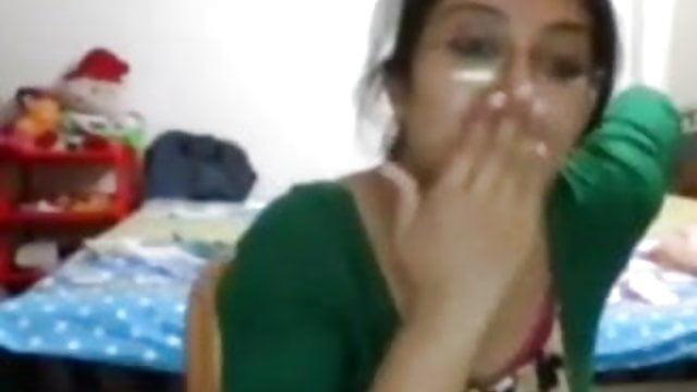 Girl s college indian hidden boobs