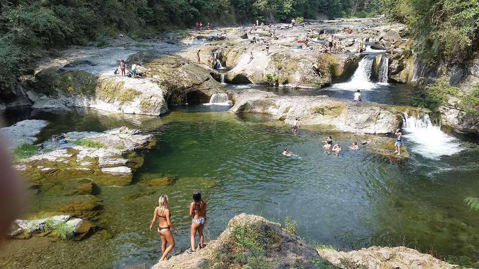 Nude swimming holes beaches