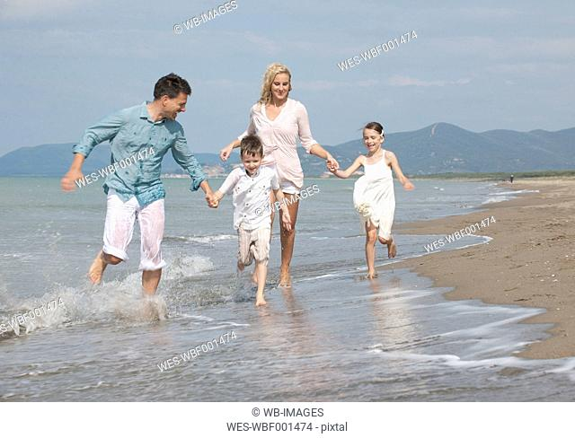 Family nude beach spain