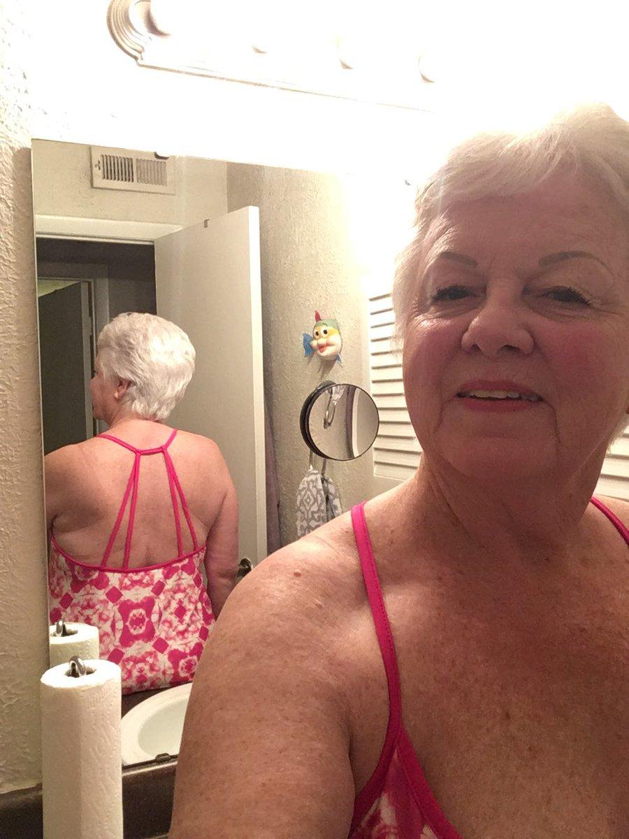In porn granny pink panty