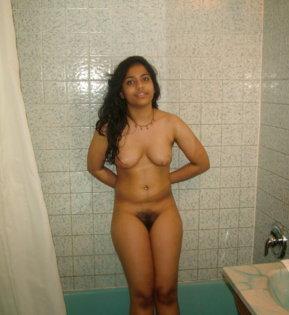 Naked hairy indian girl
