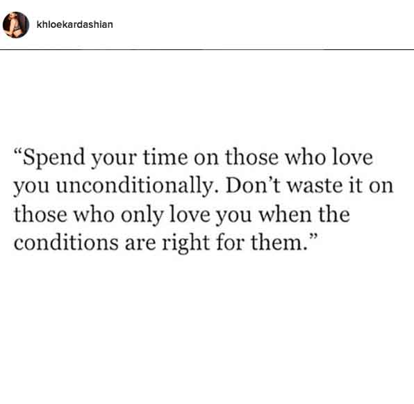 Instagram quote about love