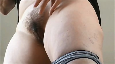 Pussy hairy up panties mature close in
