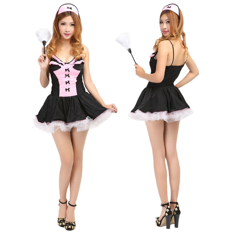 Picture of sexy french maid
