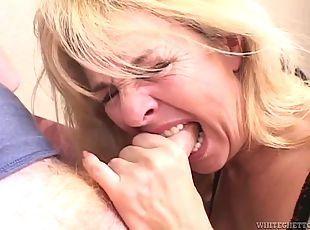 Grandmas doing deep throat