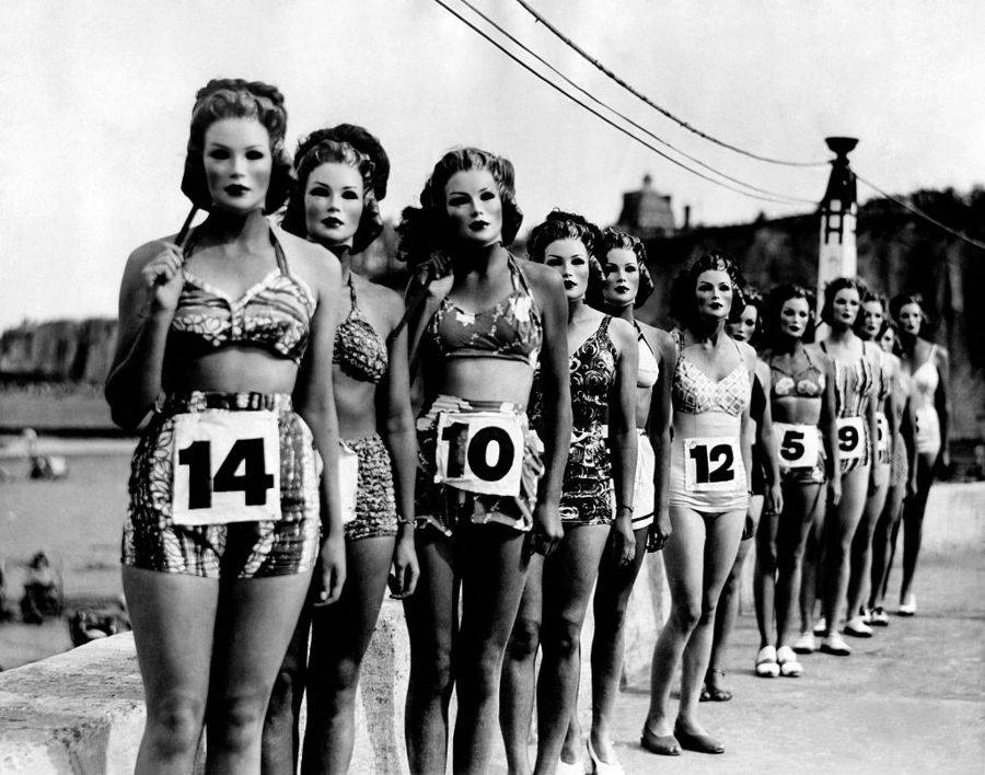 Nudist beauty contest pictures