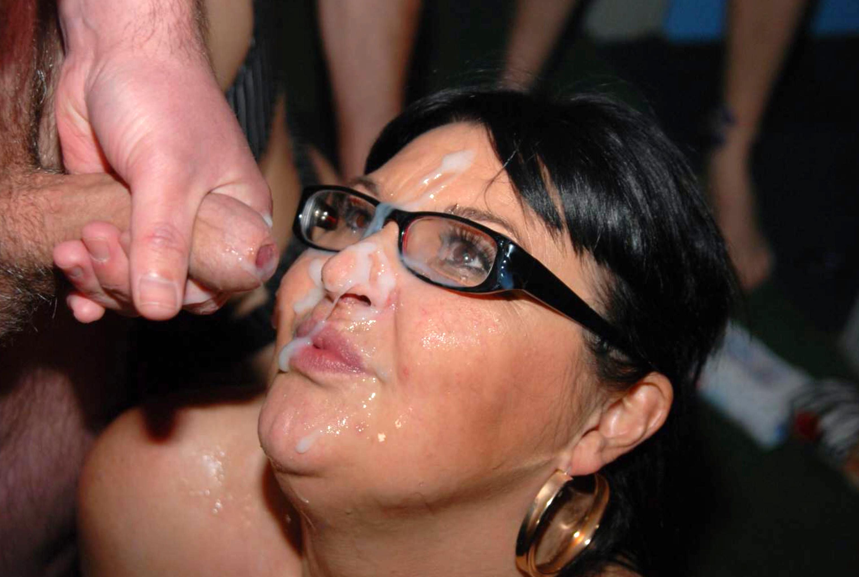 Facial cum shot porn