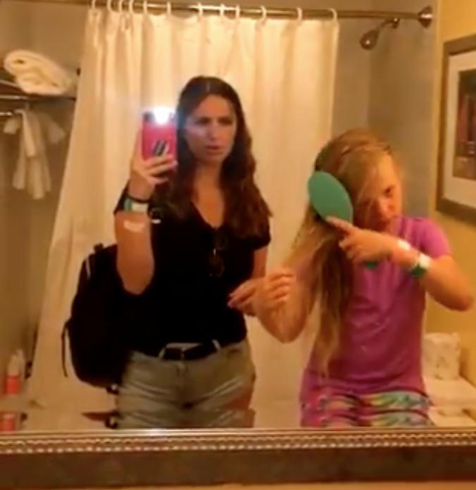 Rough young teen girls