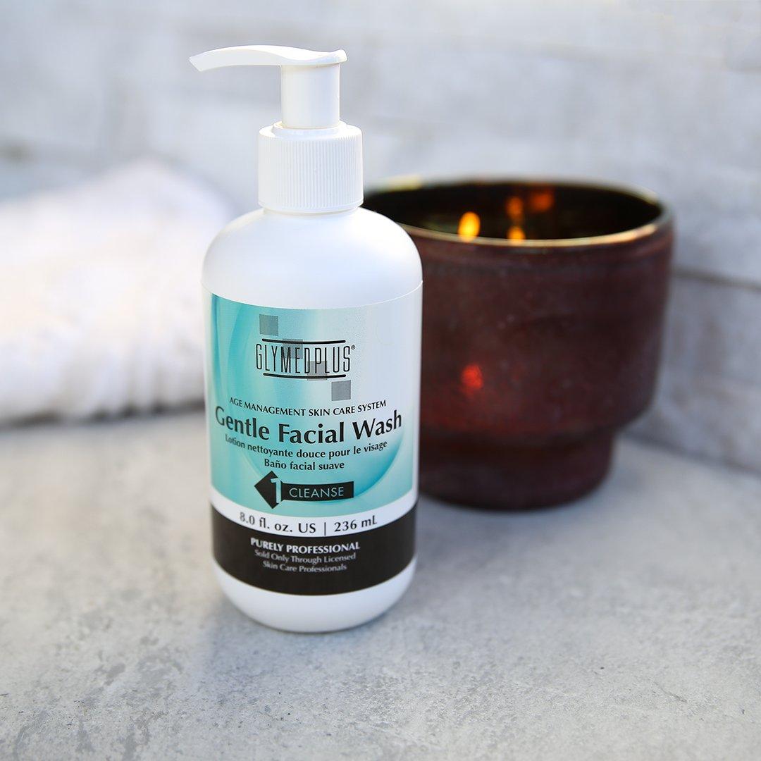 Gentle wash plus glymed facial