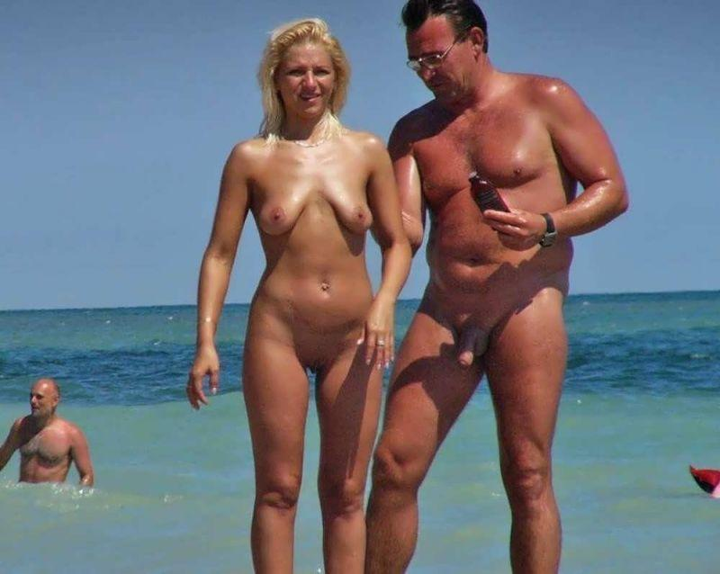 Pics porno beach saggy wifes