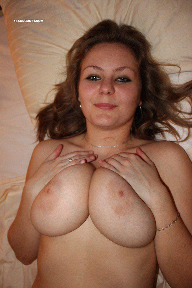 With natural tits busty big girls