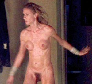 Naked girls masterbating on beach