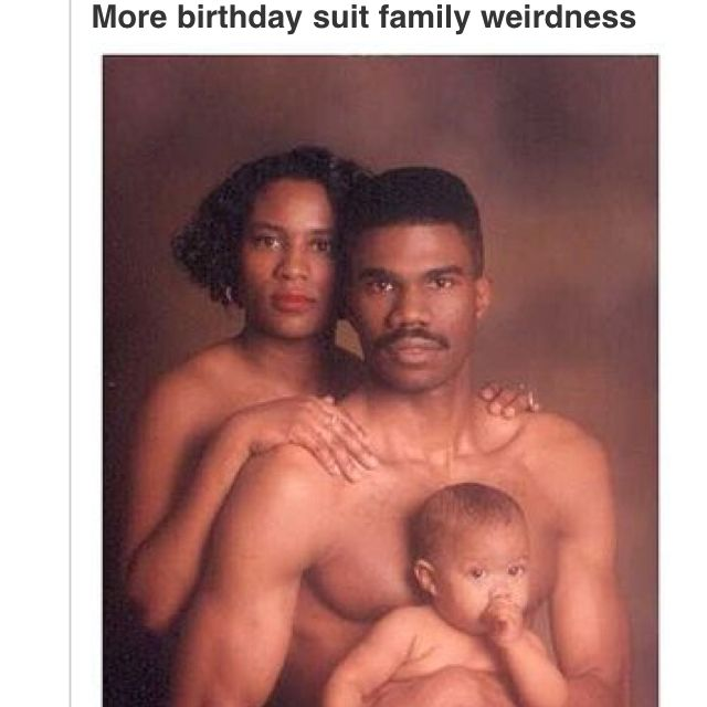Awkward family nude photos