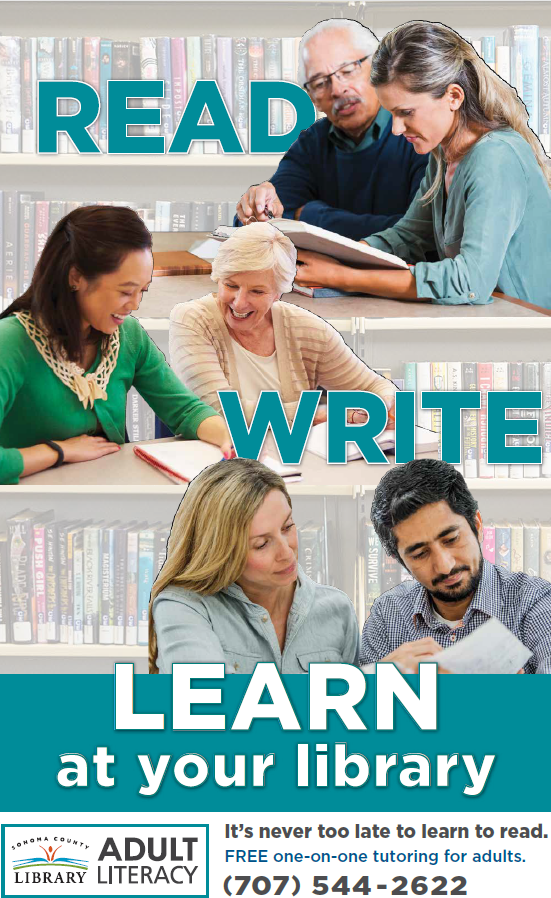 Adult reading and writing courses livermore ca