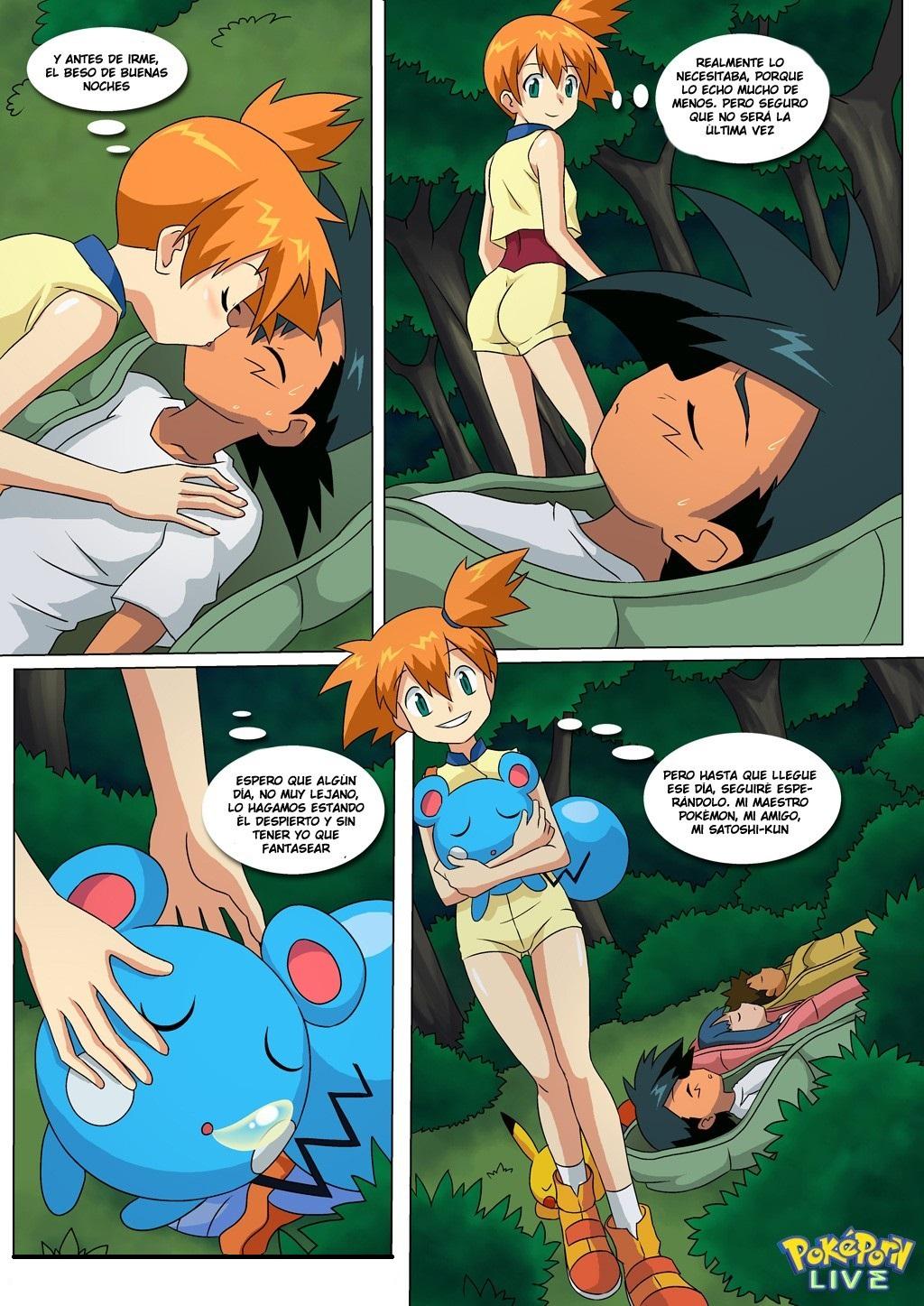 Ash and dawn kiss porn comic