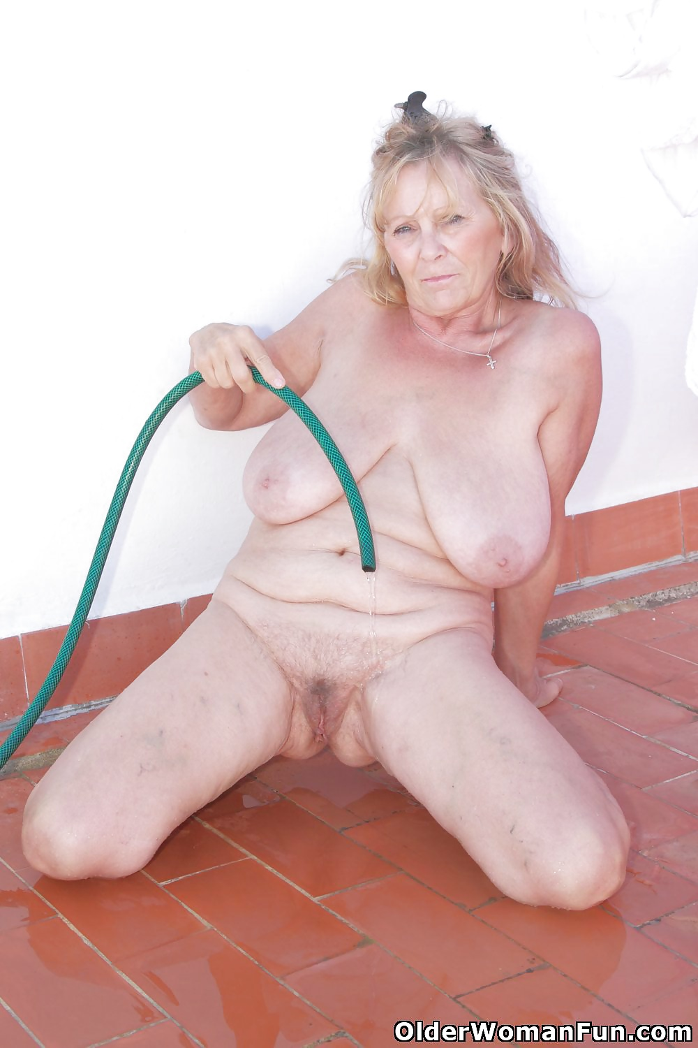 Old mature hairy granny isabel