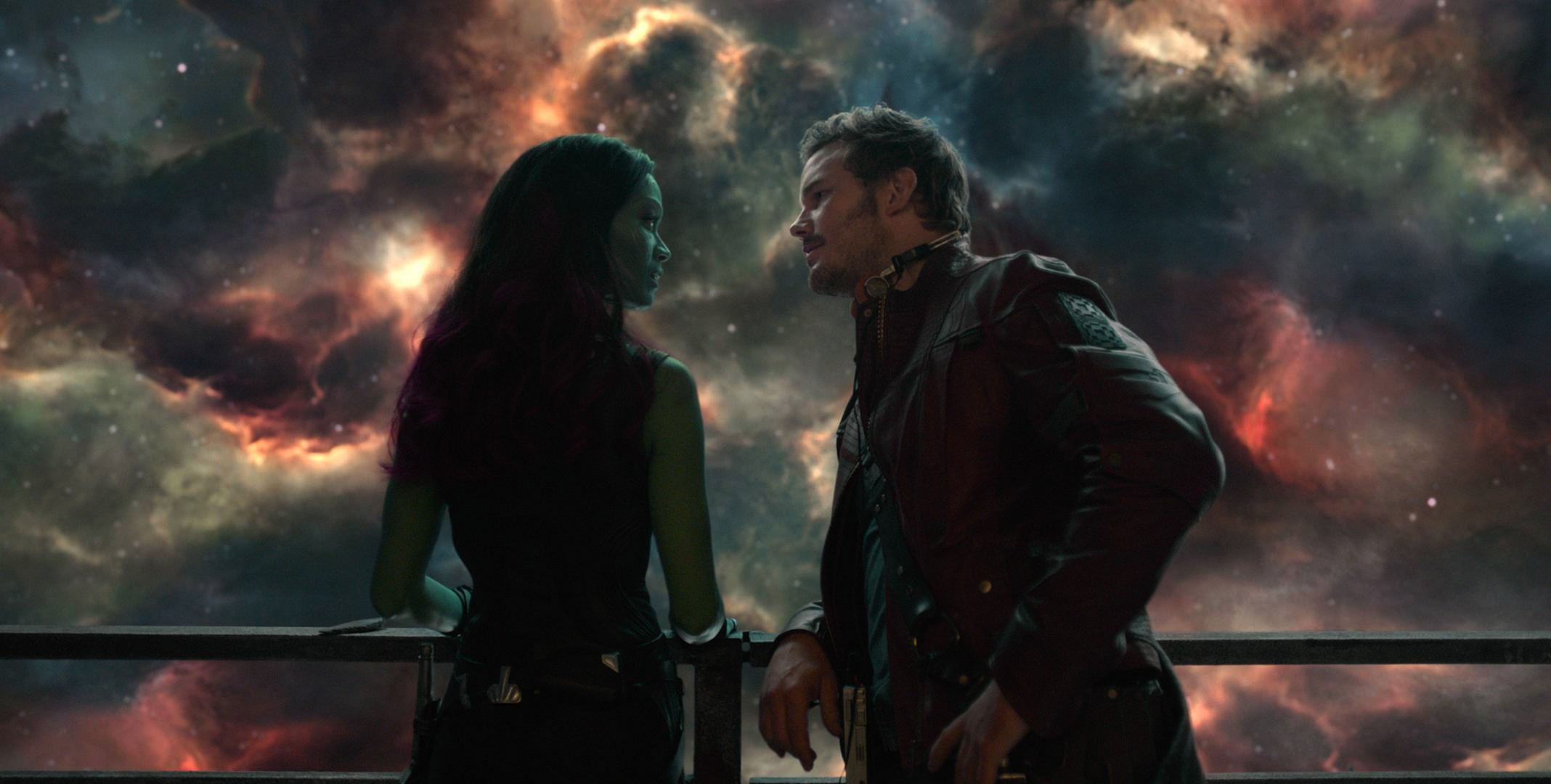 Guardians of the galaxy porn gamora and quill