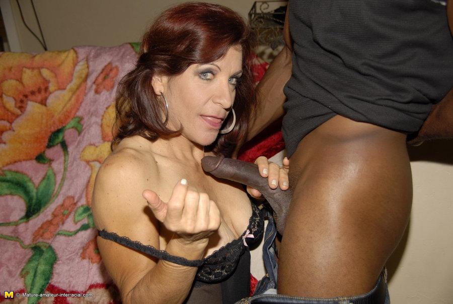 Mature black cock slut