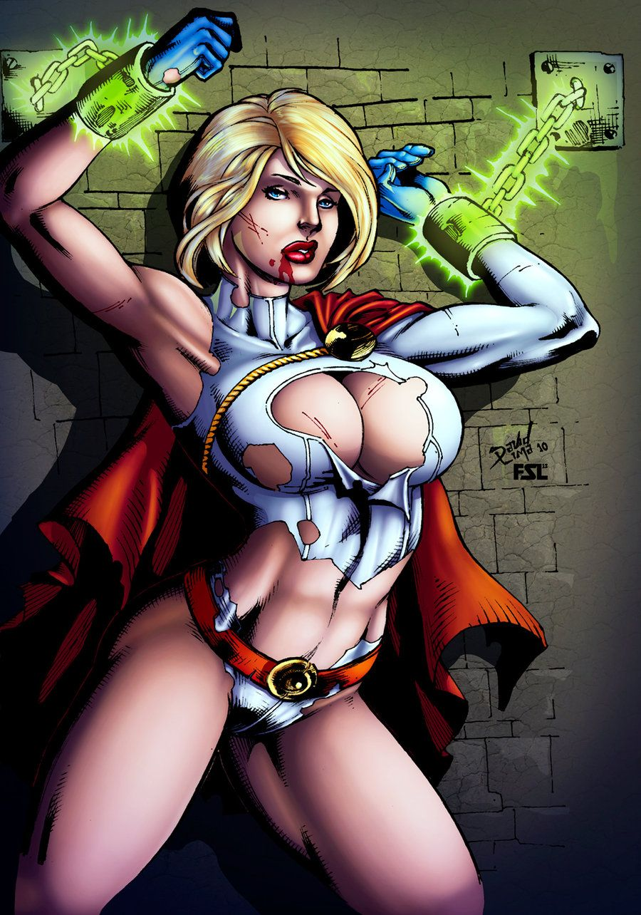Power girl dc porn marvel