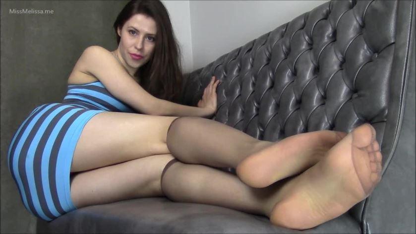 Nylon knee high socks porn