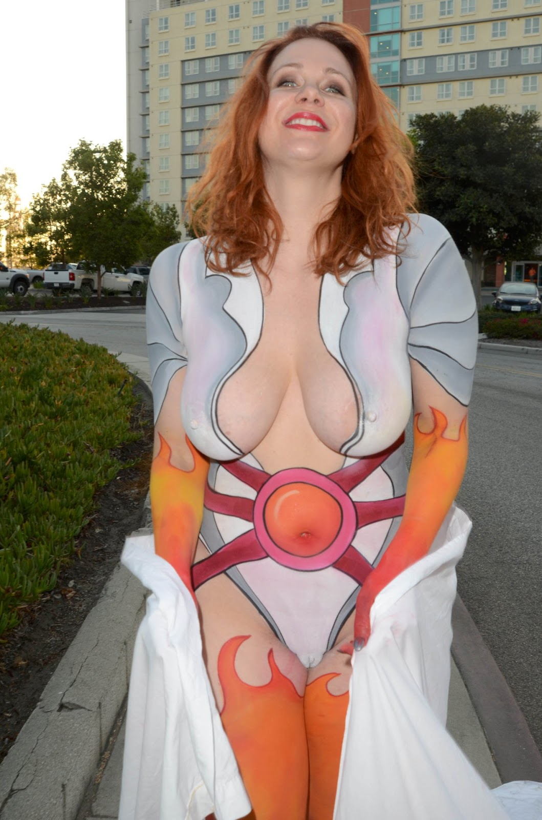 Tumblr big tits body paint