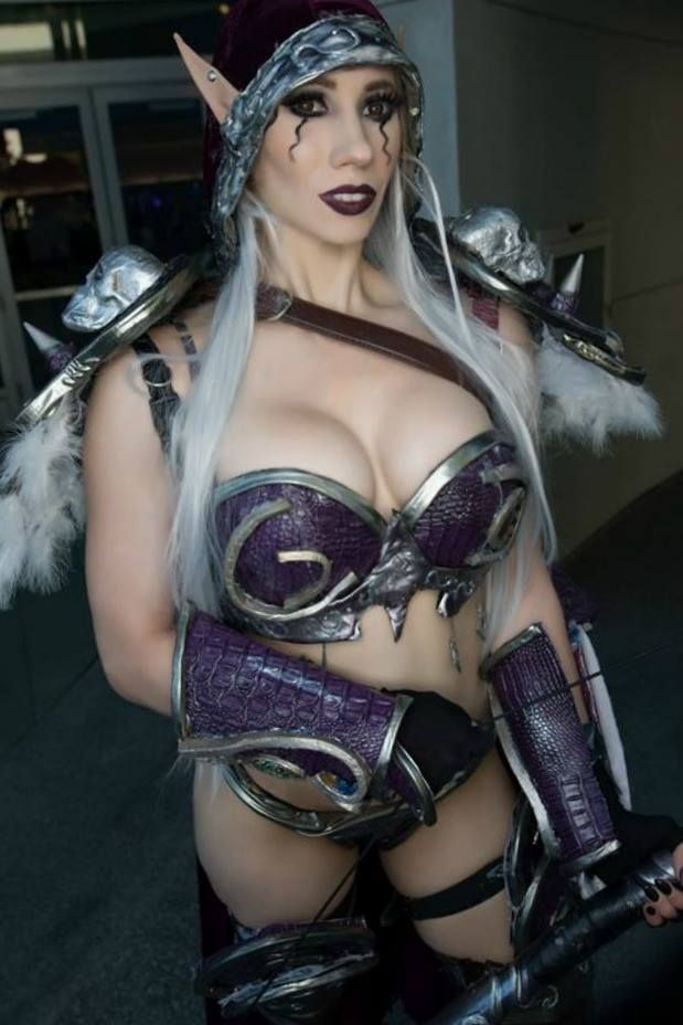 Sylvanas windrunner cosplay nude