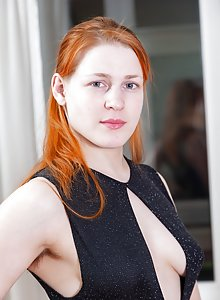 Exotic nude redhead women
