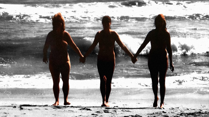 Family nudist nudism life